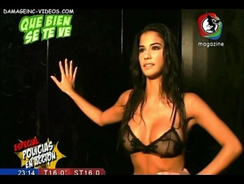 Delfina Gerez Bosco nipples see through video