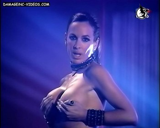 Daniela Cardone topless dance